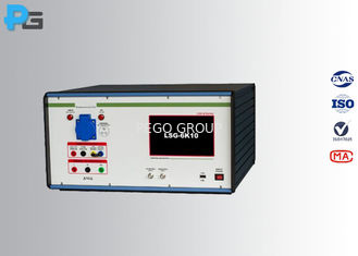 300 V EMC Test Equipment , Lightning Surge Generator PLC Touch Screen